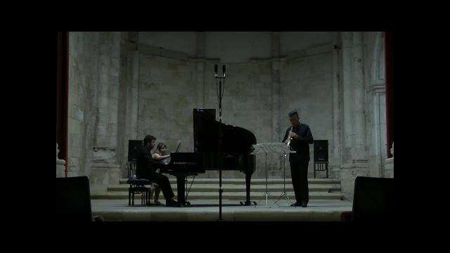 20150905 Brihuega-Duo sax-piano- Ravel-sonatine