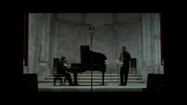 20150905 Brihuega-Duo sax-piano- E. Grieg-Once Upon a Time