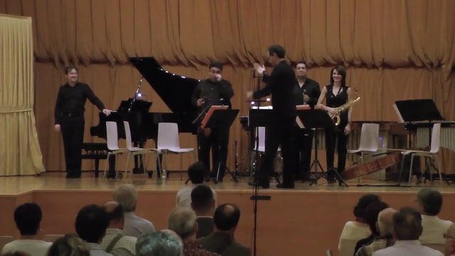 20161008 Tres Cantos- Webern, Quartet op 22