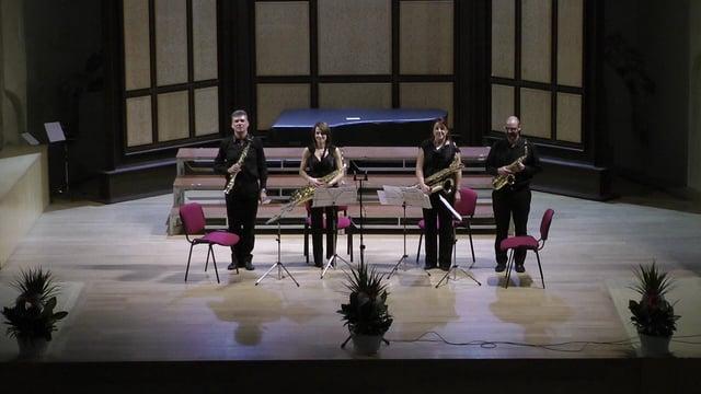 Sax-Ensemble , Avila, Françaix- Quatuor
