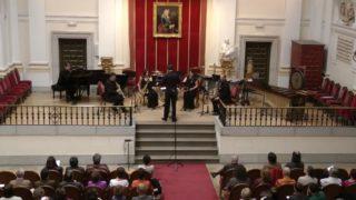 Bellas Artes, Sax-Ensemble-G. Loidi, Retrato Cervantino