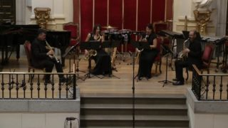 Bellas Artes, Sax-Ensemble-M. Botter, Sheet of Sounds
