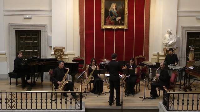 Bellas Artes, Sax-Ensemble- T. Marco, Paraiso dinámico