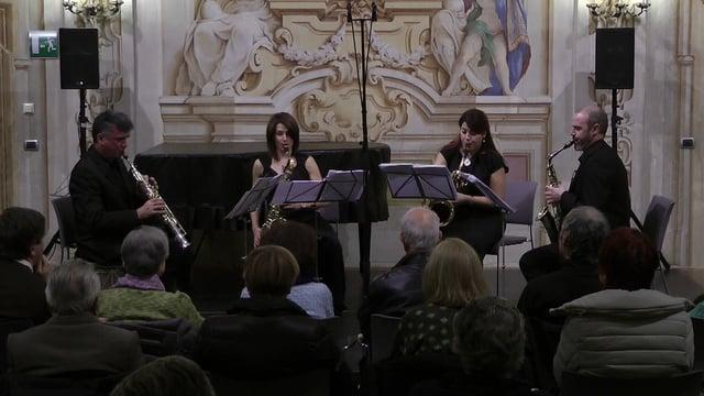 Turin- Cuarteto Sax-Ensemble- De Pablo, Fandango