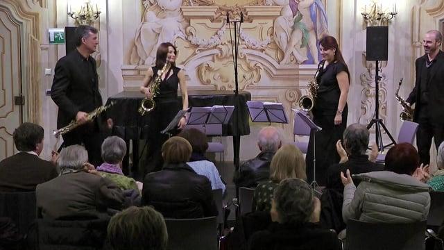 Turin- Cuarteto Sax-Ensemble- Françaix, Quatuor