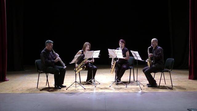 Sax-Ensemble – Cuarteto, Arévalo