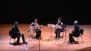 Arévalo- Sax-Ensemble. Ligeti, 6 bagatelas