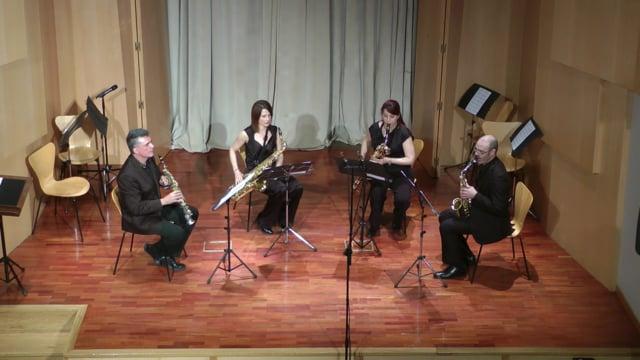 Lázaro Galdiano- Sax-Ensemble, Quetglas, Tonada