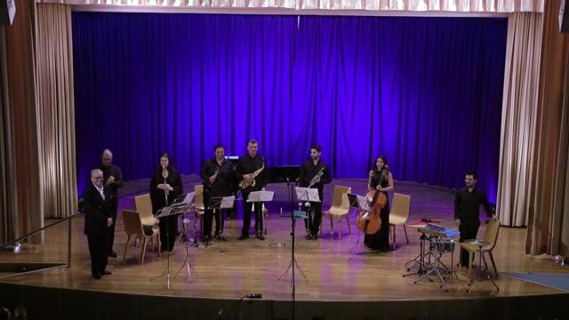 Festival Santander; Sax-Ensemble; Walton Façade