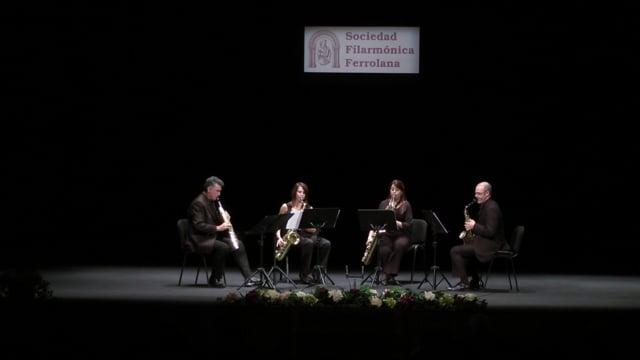 Ferrol, Cuarteto Sax-Ensemble – A. Romero