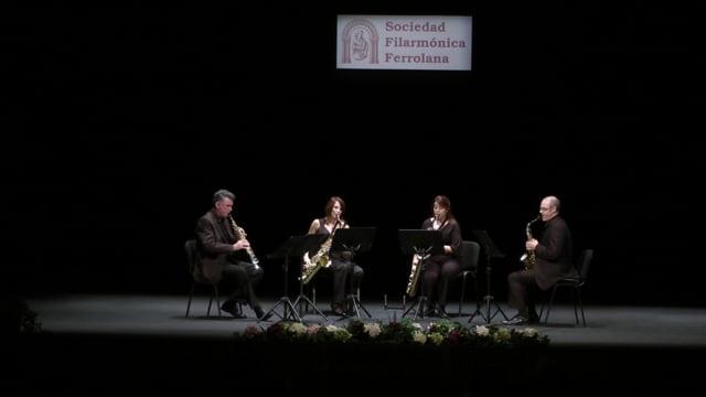 Ferrol, Cuarteto Sax-Ensemble – Bach, Concierto Italiano