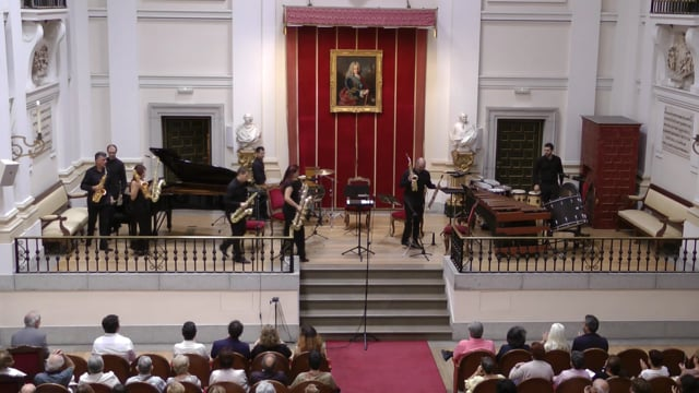Sax-Ensemble Bellas Artes -Zulema, Austral