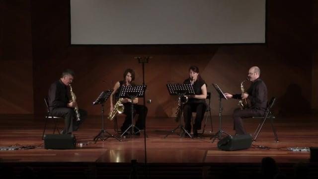 Sax-Ensemble, Centrocentro – A.Nuñez, Quebrada