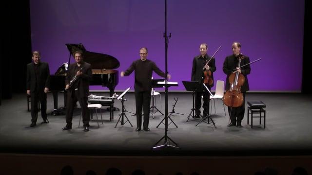 Sax-Ensemble, Fest. Tres Cantos – R. Barce, Serenata