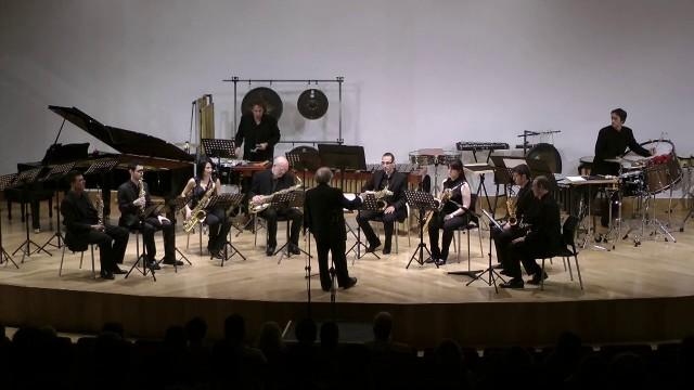 20140501 Apertura Sax-Ensemble- Rueda