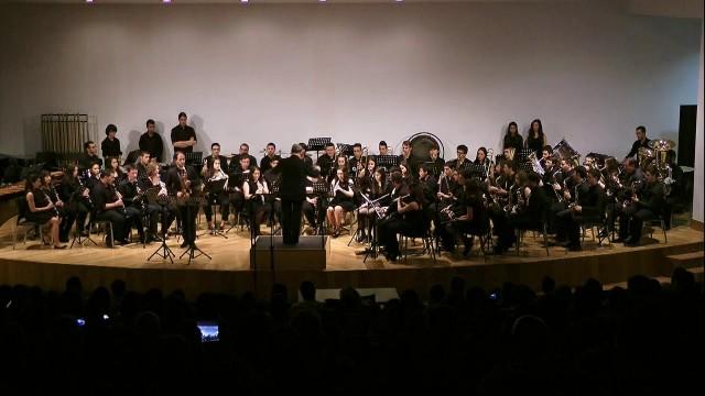 20140503 Banda Conservatorio- Iturralde