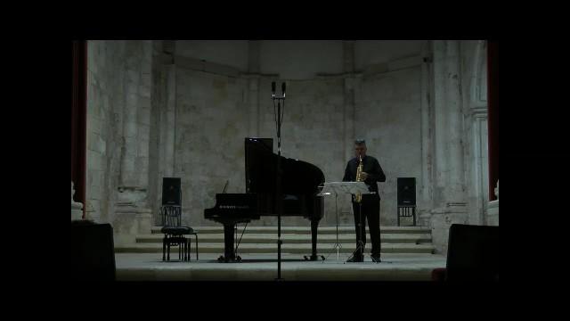 20150905 Brihuega-Duo sax-piano- Villa Rojo-Lamento D