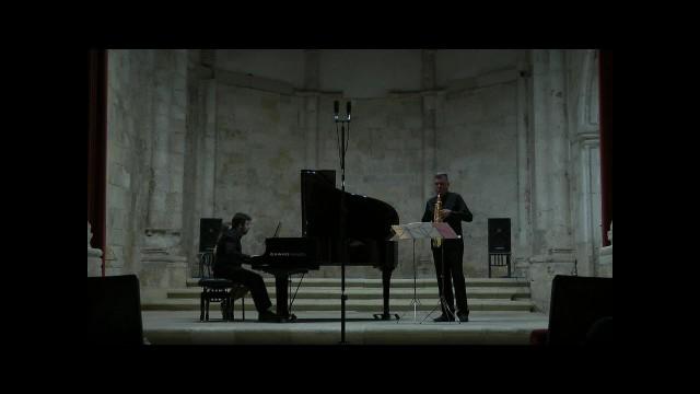 20150905 Brihuega-Duo sax-piano- Villa Rojo-Oracion Serena