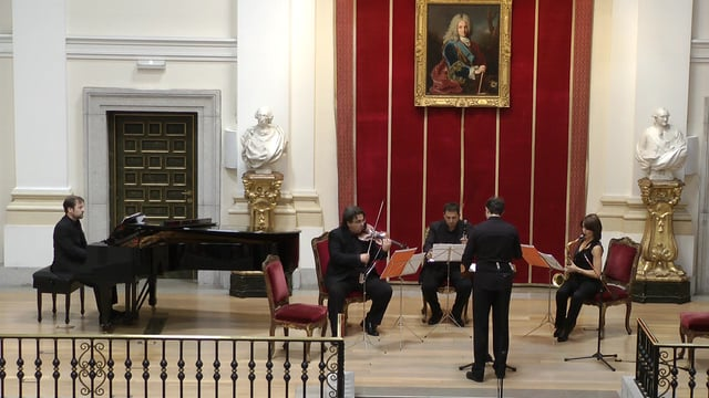 Academia de Bellas Artes.Webern. Quarte op.22