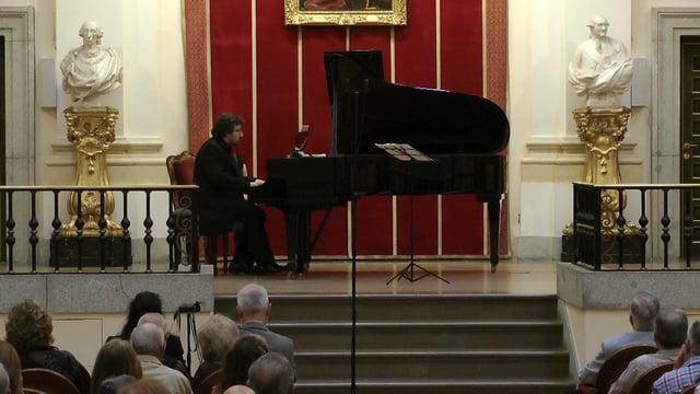 Escoda, Martinez en Bellas Artes-De Pablo, Sonata