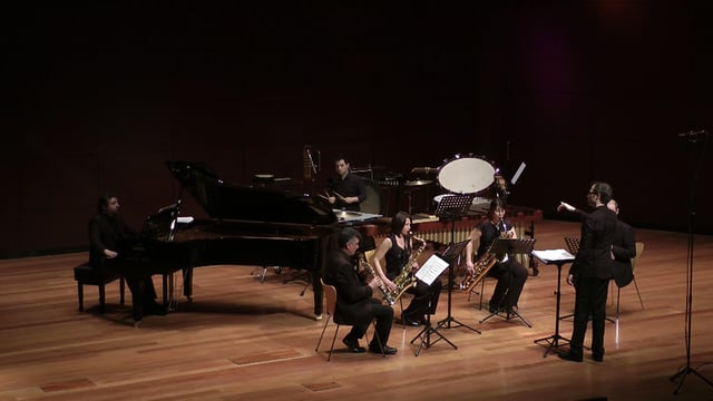 Sax-Ensemble, Reina Sofia-Carro, Visiones