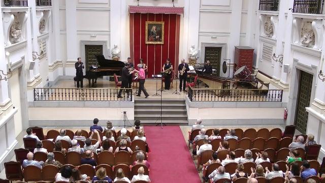 Bellas Artes, Sax-Ensemble,J. Legido, Acantilados