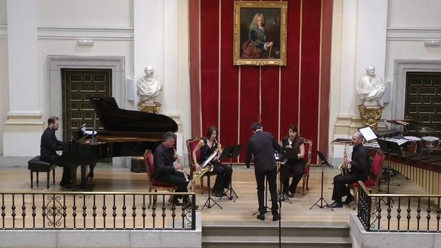 Bellas Artes, Sax-Ensemble,J. Solana, Frasie