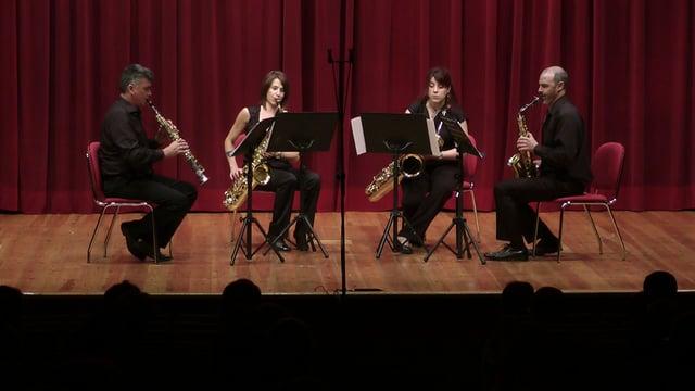 Vigo, A Fundacion, Cuarteto Saxos- E. Rueda. Tocatta
