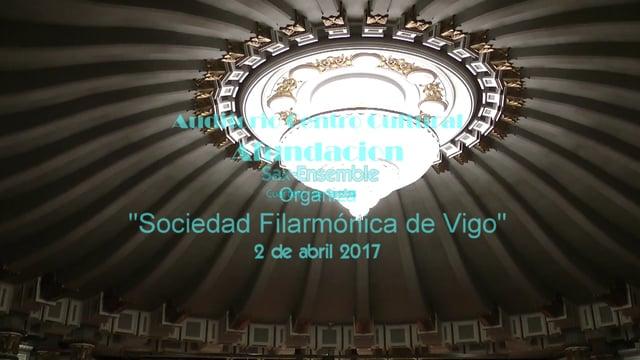Vigo, A Fundacion, Cuarteto SaxosDuran-Loriga, Xerodanza