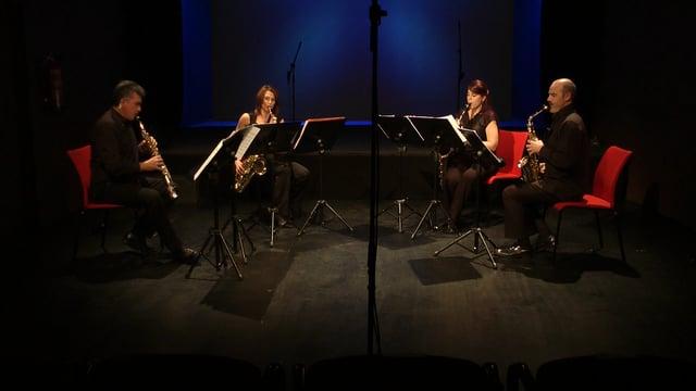 Sax-Ensemble, Sevilla; Cruz de Castro, Sombras de saxofón