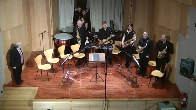 Lázaro Galdiano- Sax-Ensemble, Copland, Fanfarria