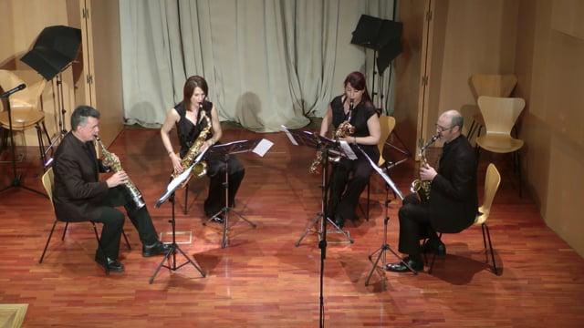 Lázaro Galdiano- Sax-Ensemble.Ligeti, Seis Bagatellas