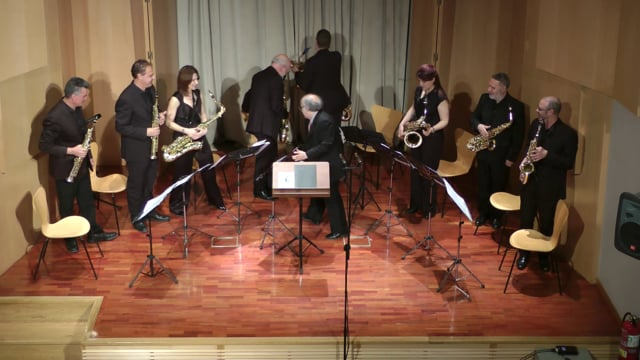 Lázaro Galdiano- Sax-Ensemble- Romero. 3º mov