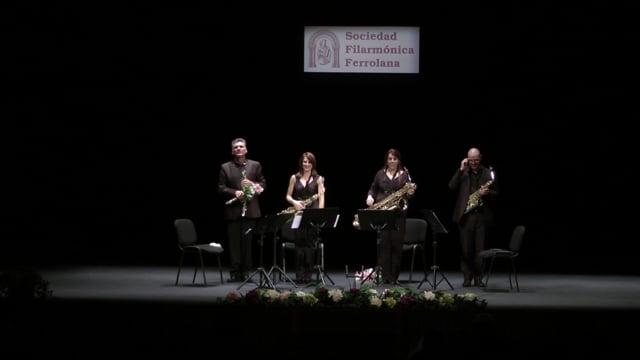 Ferrol, Cuarteto Sax-Ensemble – L. de Pablo, Fandango