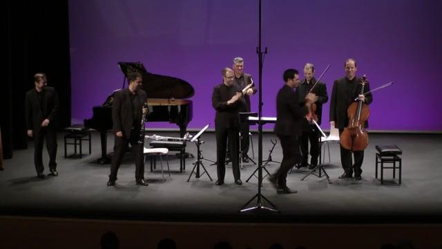 Sax-Ensemble, Fest. Tres Cantos – A. Roman, Preludios