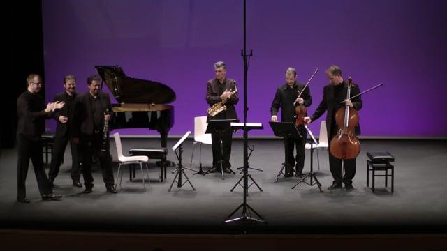 Sax-Ensemble, Fest. Tres Cantos – Legido, Concierto Italiano