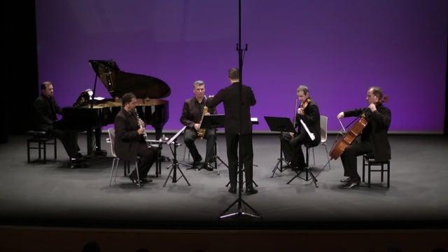 Sax-Ensemble, Fest. Tres Cantos – Z. de la cruz, Colina del viento
